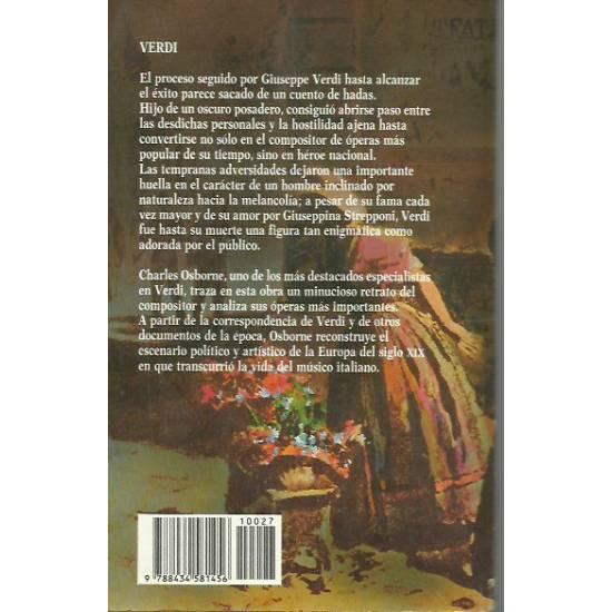 Verdi (biografía) por Charles Osborne