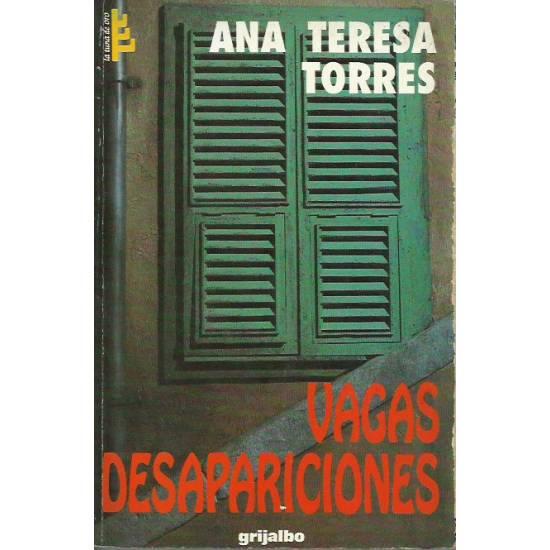 Vagas desapariciones (Novela)