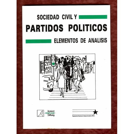 Sociedad civil y partidos politicos. Elementos de analisis