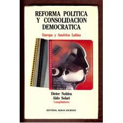 Reforma politica y consolidacion democratica. Europa y America Latina.