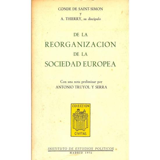 De la reorganizacion de la sociedad europea