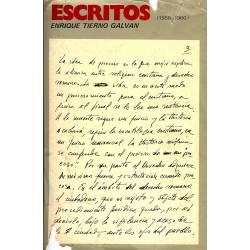 Escritos de Enrique Tierno Galban (1950-1960)