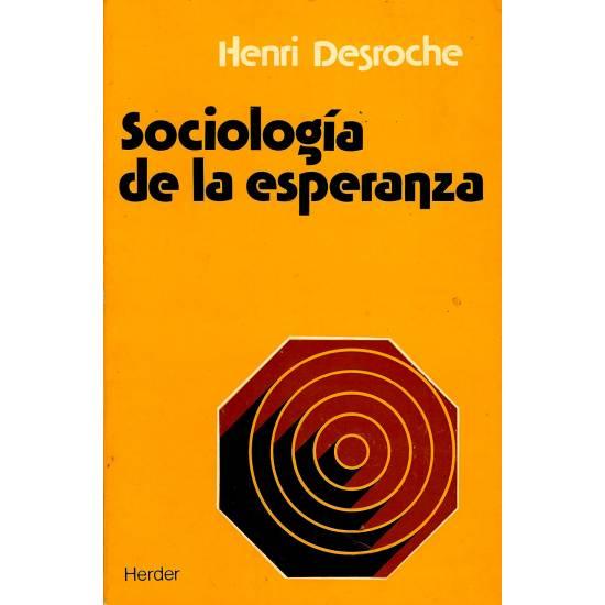 Sociologia de la esperanza