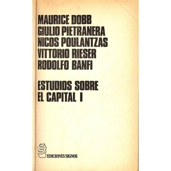 Estudios sobre El Capital I