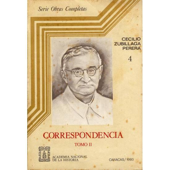 Correspondencia II de Cecilio Zubillaga Perera n 4