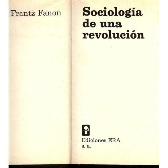 Sociologia de una revolucion