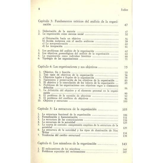 Sociologia de la organizacion