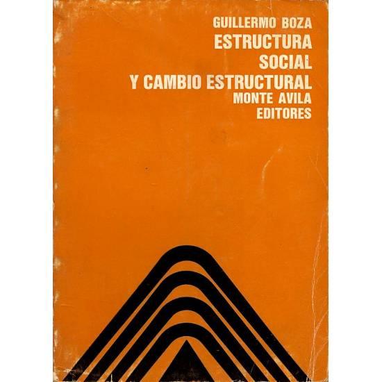 Estructura social y cambio estructural