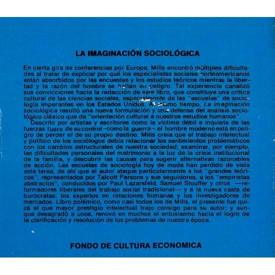 La imaginación sociológica