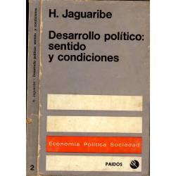 Desarrollo politico: sentido y condiciones