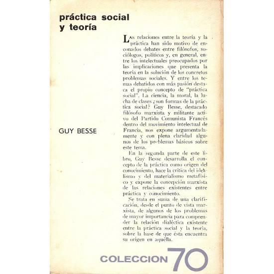 Practica social y teoria
