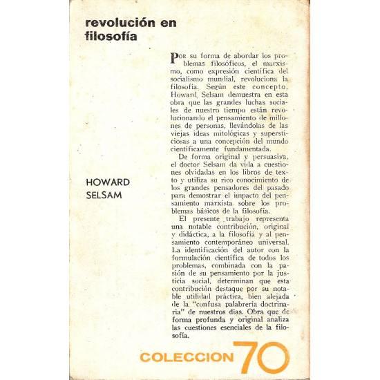 Revolucion en filosofia