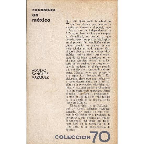 Rousseau en Mexico