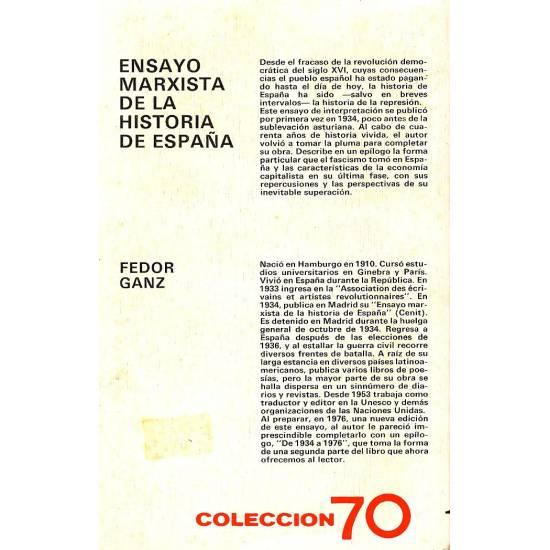 Ensayo marxista de la historia de España