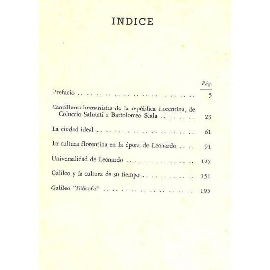 Ciencia y vida civil en el Renacimiento italiano