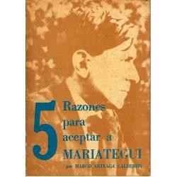 5 razones para aceptar a Mariategui