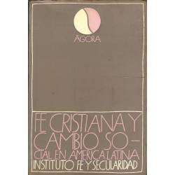 Fe cristiana y cambio social en America Latina