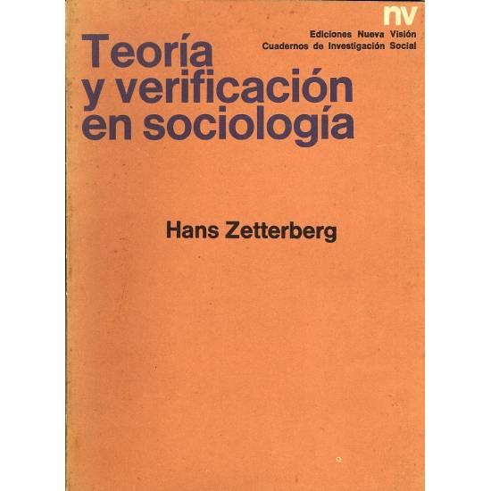 Teoria y verificacion en sociologia